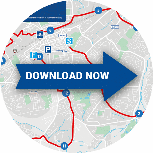 New Swindon Half Route Map