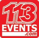 Advertisement for 113 Events
