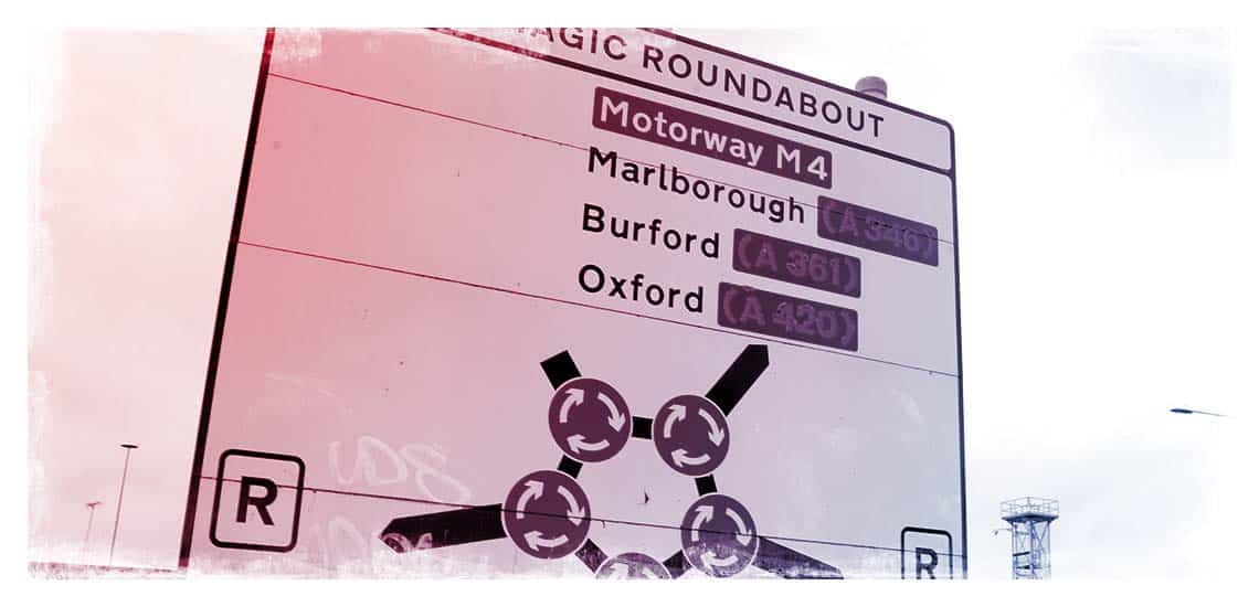 Magic Roundabout is featured on the Swindon Half Marathon route
